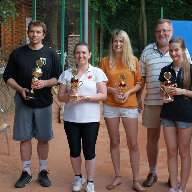Turniej tenisowy kobiet w Zielonce